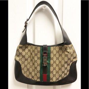 100% Authentic GUCCI Vintage Jackie O Hobo Bag